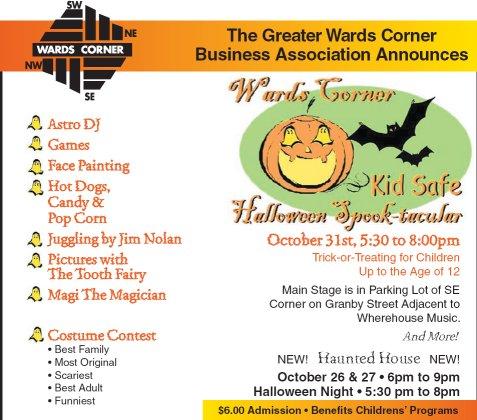 Spooktacular Flyer Image