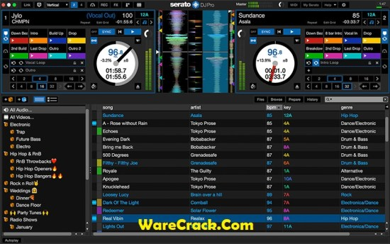 Serato DJ Pro Crack With License Key Full Free Download