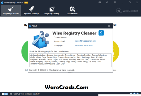 Wise registry cleaner 10. 14 build 672 crack + serial key free download.