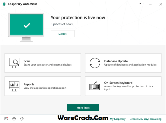 Kaspersky Antivirus 2019 License Key