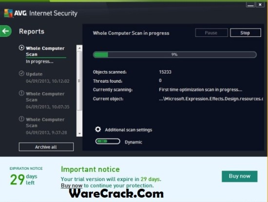 AVG Internet Security 2019 Serial Key