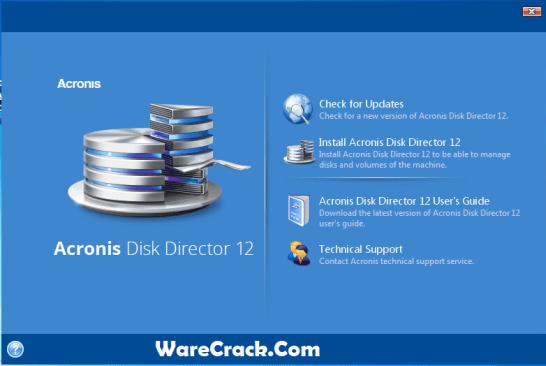 Acronis Disk Director 12.5 Crack