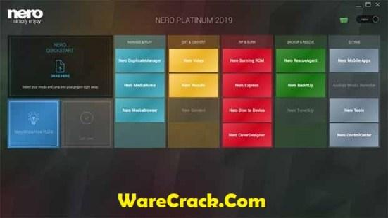 Nero Platinum 2019 Serial Key