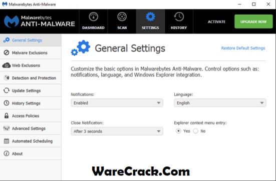 Malwarebytes Anti-Malware Premium Crack + Serial Key