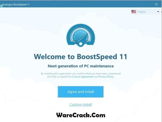 Auslogics BoostSpeed 11 Crack