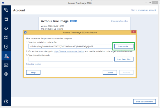 Acronis True Image 2020 Serial Number