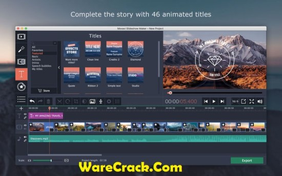 Movavi Video Editor 15 Activation Key
