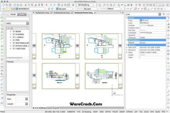 BricsCad Platinum License Key