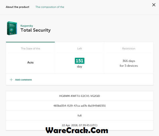 Kaspersky Total Security 2020 Activation Code
