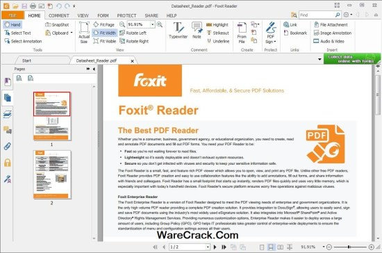 Foxit Reader Serial Key