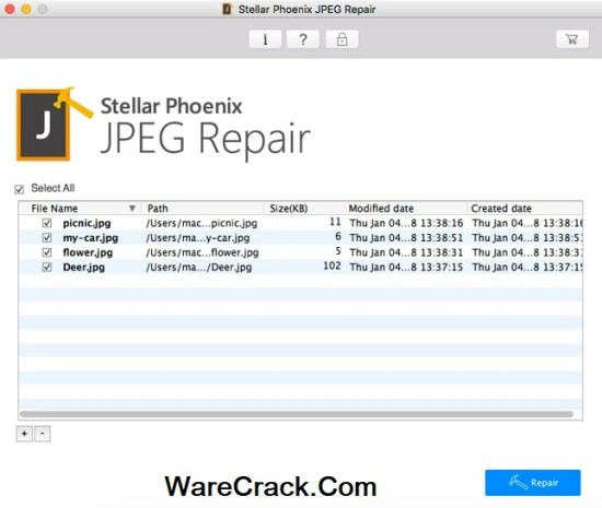 Stellar Phoenix JPEG Repair Activation Key