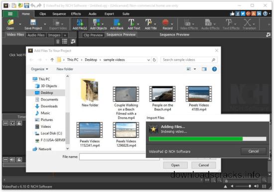 NCH VideoPad Video Editor Pro Serial Key