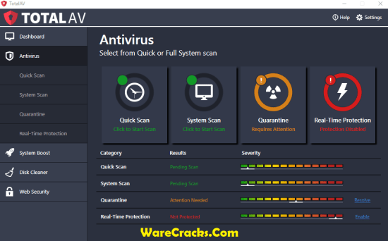 Total AV Antivirus 2019 License Key