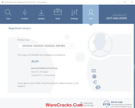 GridinSoft Anti-Malware Key Crack
