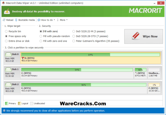 Macrorit Data Wiper Activation Key