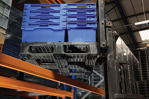 Plastic-pallets-have-three-stated-loading-capacities---static,-dynamic-and-racking.