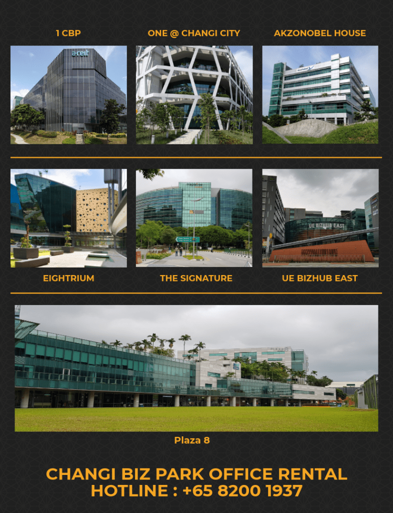 Changi business Park office for rent