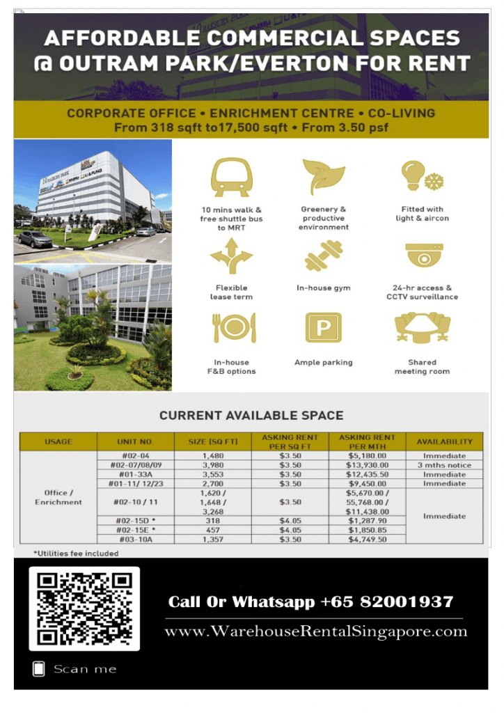 commercial office for rent near CBD