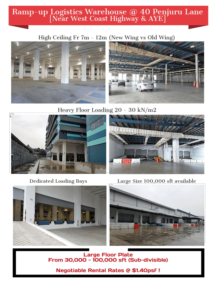 Penjuru Warehouse For Rent