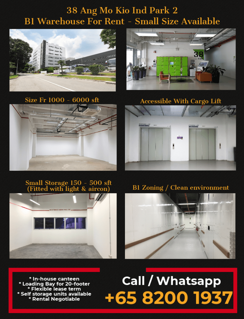 Warehouse for rent in Ang Mo Kio