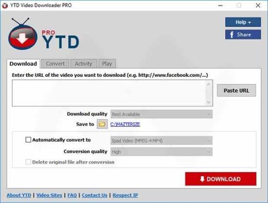 YTD Video Downloader Pro Crack & Serial Key