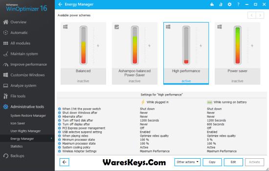 Ashampoo WinOptimizer 16 Serial Key