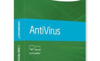 Webroot Secureanywhere Antivirus 2019