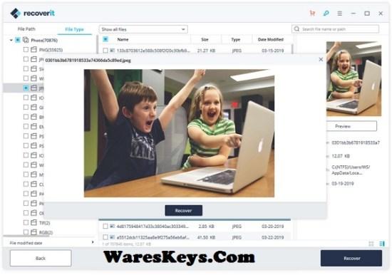 Wondershare Recoverit Serial Key