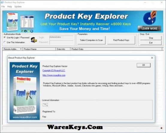 Product Key Explorer Serial
