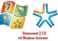 Removewat 2.2.9 Windows 7, 8, 8.1 Activator