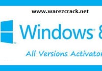 Windows 8 Activation Crack All Versions 2015 Download