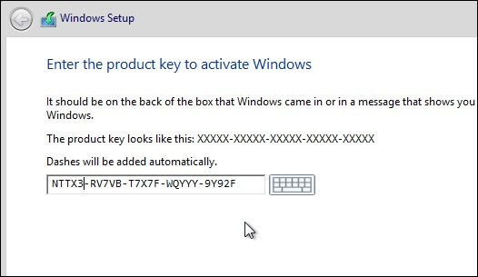 product key for windows 8.1 pro