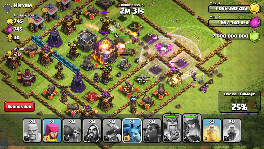 Clash of Clans APK Unlimited Mod/Hack v8.212.9 Download