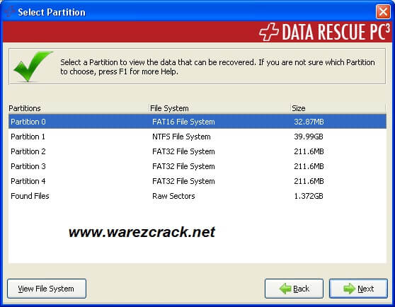 data recovery serial number