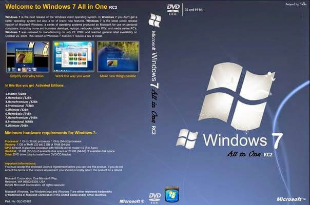Windows 7 Aio Activated