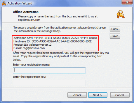 Movavi Video Editor 12 activation key