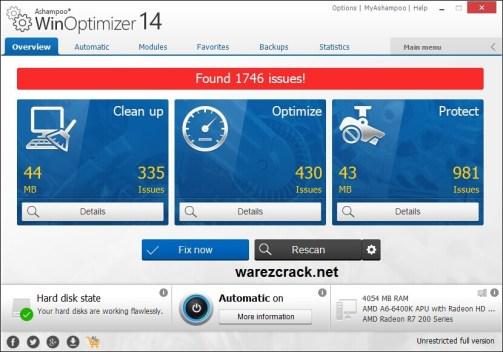 Ashampoo WinOptimizer 14 Crack
