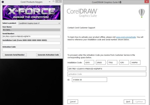 CorelDraw X8 Crack with Keygen & Serial Number Full Free
