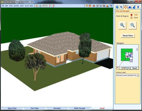 Total 3D Home Design Deluxe 11 Activation Key