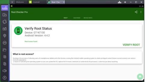 bluestacks 2.5.70 root