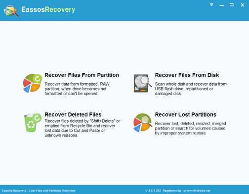 eassos recovery License Key