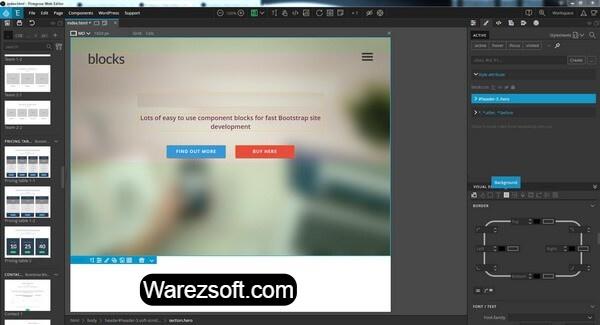 Pingro Web Editor