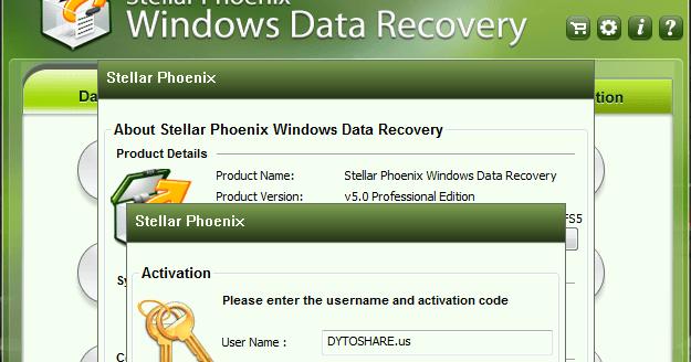 Stellar Phoenix Data Recovery 10.1.0.0 Crack + Activation Key