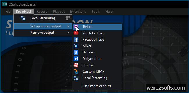 X Split Broadcaster