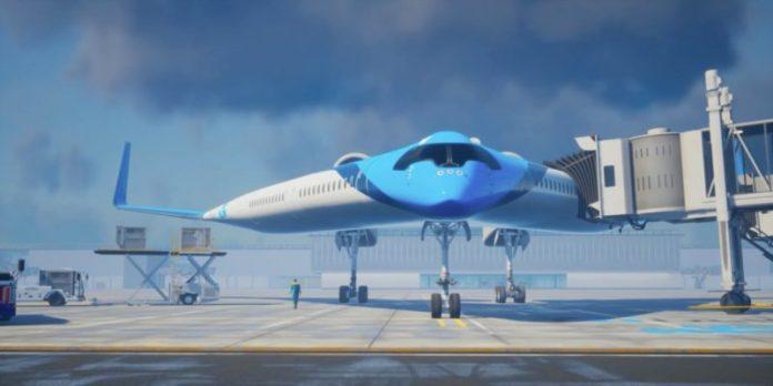 Penampakan Pesawat Flying-V