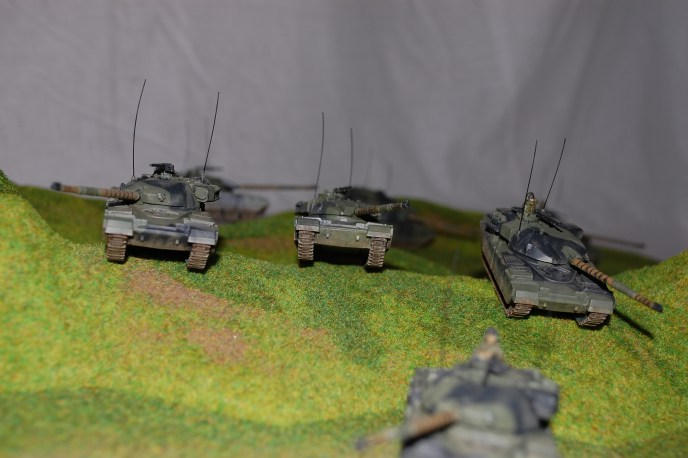 Amassing the Troops #5 - Team Yankee British