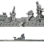 Germany's Admiral Hipper and U-66 Models  CLICK FOR A BETTER LOOK
