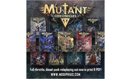 Mutant Chronicles RPG 3rd Ed. descripción del Sistema 2d20 (Reseña)