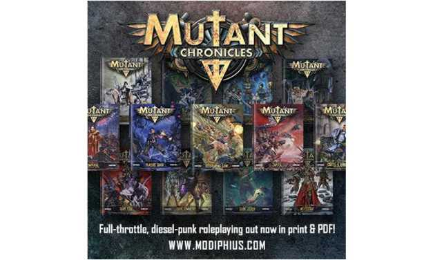 Mutant Chronicles RPG 3rd Ed. descripción del Sistema 2d20 (Reseña)