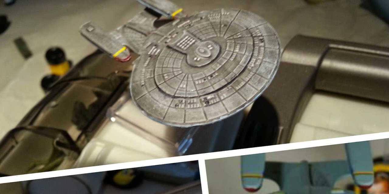 Mejorando las Naves de Star Trek Attack Wing